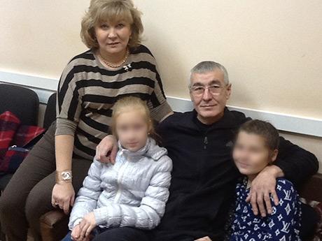 Гриня Казанский (он же Рафис Габсалямов) с семьей