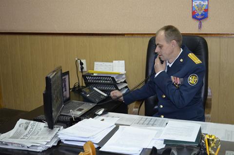 Начальник СИЗО-1 Виталий Романов