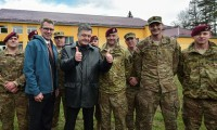 На Украине начались военные учения совместно с американцами — фото