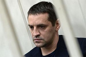 Советник губернатора Сахалинской области Андрей Икрамов на заседании в Басманном суде в Москве
