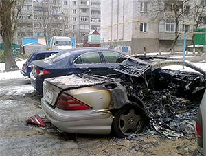 Поджог машин в екатеринбурге