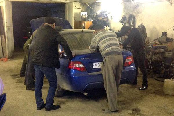 Банда угонщиков задержана на Урале