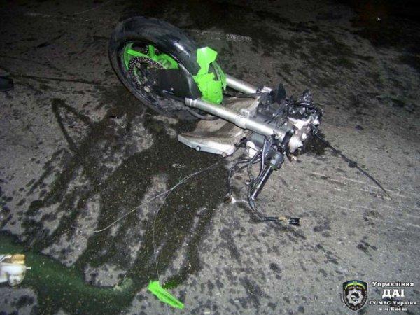 Неудачный угон мотоцикла завершился трагедией