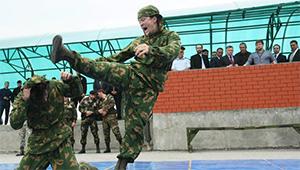 Спецназ Чечни занял первое место