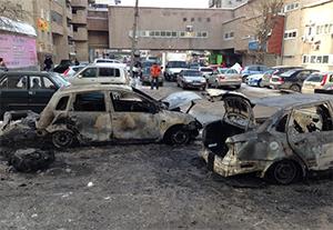В Екатеринбурге продолжаются поджоги автомобилей
