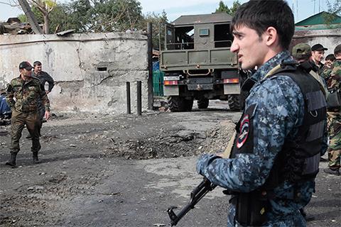 Чеченская полиция