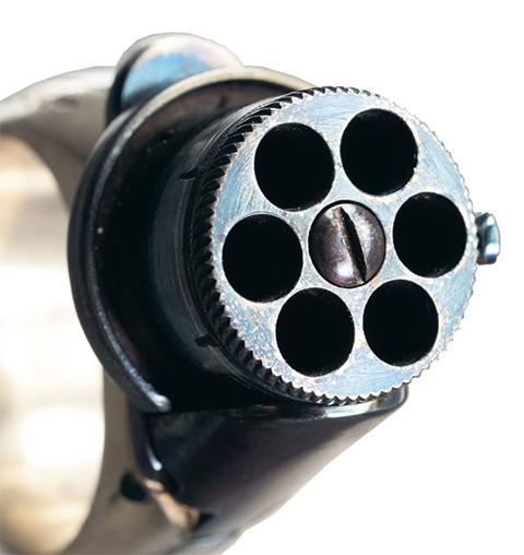 Кольцо револьвер (кольцо пистолет)