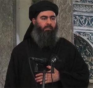 Лидер Игила Абу Бакр аль-Багдади