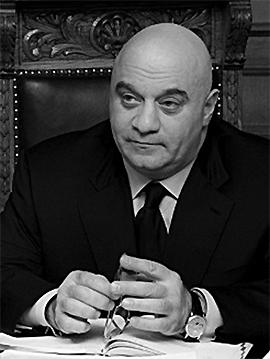 Авторитетный бизнесмен Александр Ебралидзе