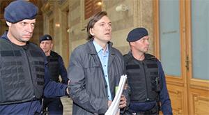 Киллер Анатолий Радченко, по кличке Челентано доставлен в суд