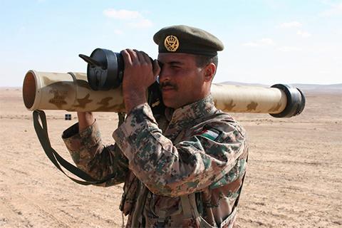 """Российсский РПГ-32 """"Нашшаб"""" для иорданской армии"""
