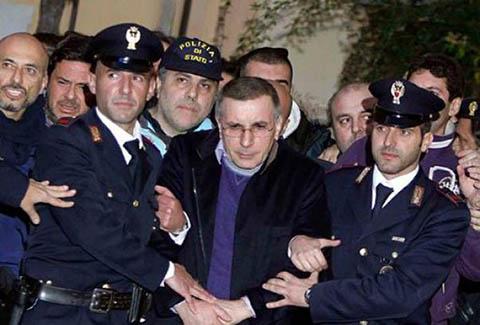 Арест одного из лидеров Каморры Микеле Загария