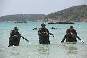 Учения военных США в Таиланде