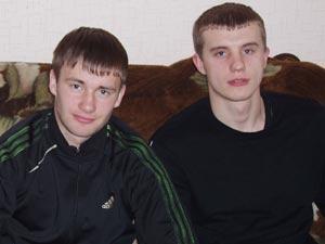 Александр Ковтун (слева) и Андрей Сухорада