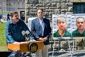 Фото с места побега заключенных в Нью-Йорке