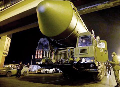 """Новый ракетный комплекс """"Ярс"""""""