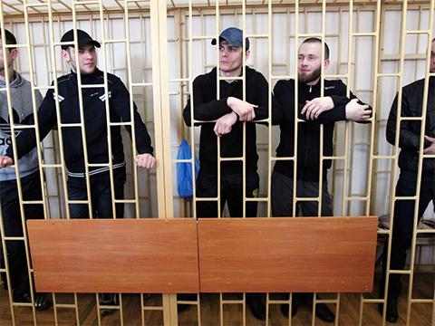 """Банда """"приморских партизан"""" на суде"""
