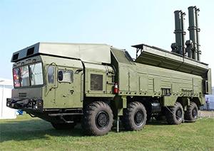 Береговой ракетный комплекс «Бастион»