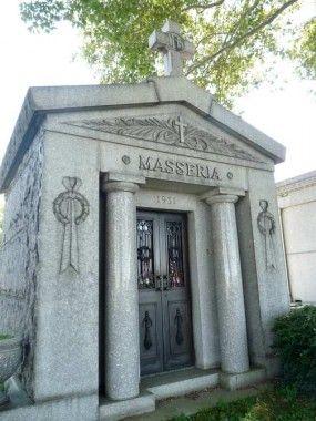 Склеп, где покоится Массерия