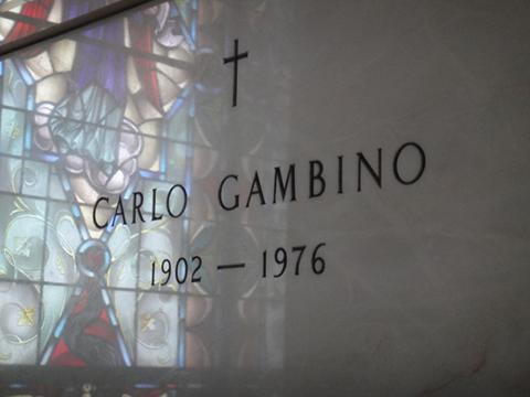 Могила Карло Гамбино :