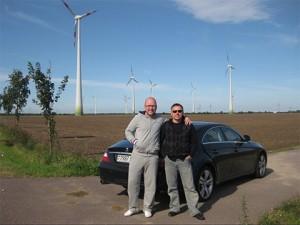 Смотрящий за Белоруссией Дэн Бобруйский и Сергей Молнар
