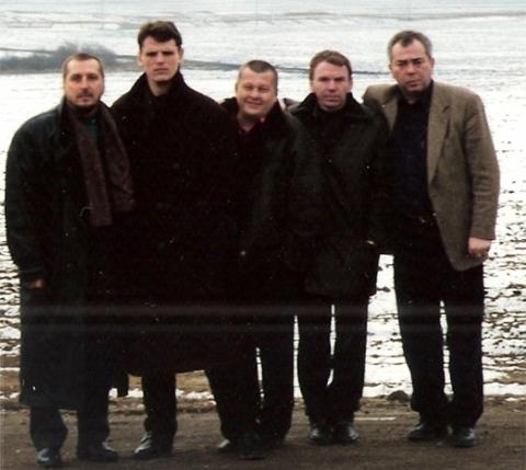 Воры в законе Александр Тимошенко (Тимоха), Сергей Коваленко (Мамонтенок) и Владимир Клещ (Щавлик)