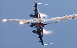 Ирак применил американские истребители F16