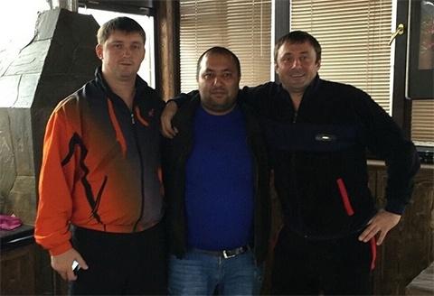 Воры в законе Виктор Жаринов (Цезарь), Талех Даглиев (Толик Ногинский) и Олег Пирогов (Циркач)