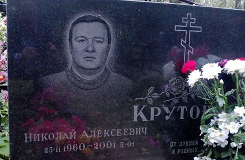 Могила Николая Крутова