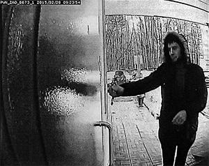С камер наблюдений монтируется фильм об убийстве Немцова