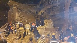 Взрыв газа в Хабаровском крае