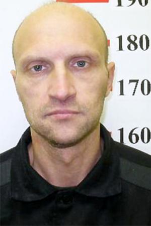Криминальный авторитет Сергей Кузнецов после ареста в 2014 году