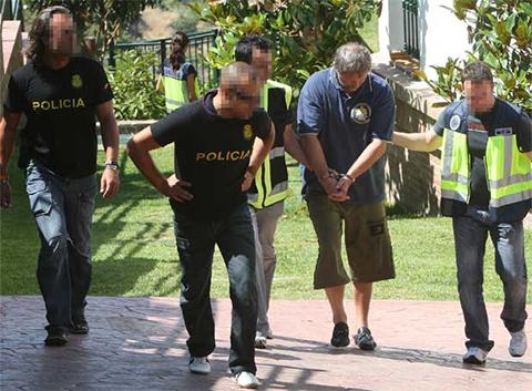 Арест Александра Малышева Испанскими правоохранителями
