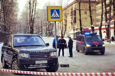 Место убийства Минеева