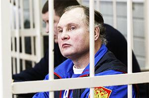 Криминальный авторитет Александр Трунов на суде