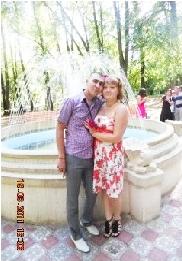 Алия Давлетгареева с мужем