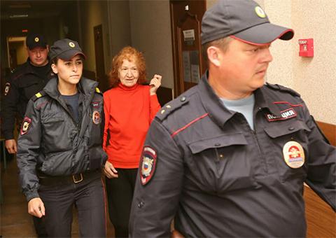 Самсонова под арестом