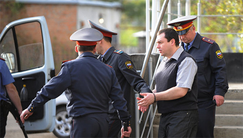 Арест  Александра Ходыча