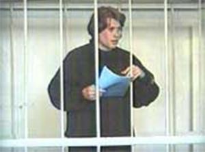 Криминальный авторитет Александр Морозов в суде
