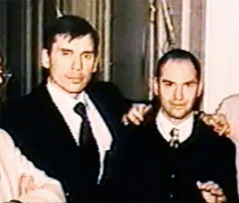 Слева: Виталий Игнатов, Андрей Колигов
