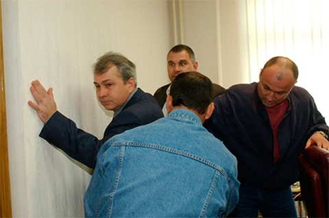 Арест и обыск Владимира Ганеева