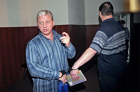Владимир Ганеев в колонии