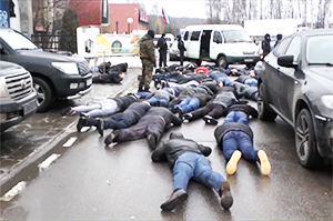 Пресечена стрелка Люберецкой и Подольской группировки