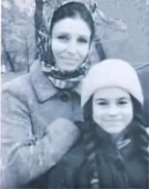 Юля Трофимова с дочерью Оксаной