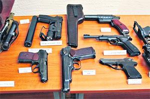 В Ингушетии задержаны торговцы оружием