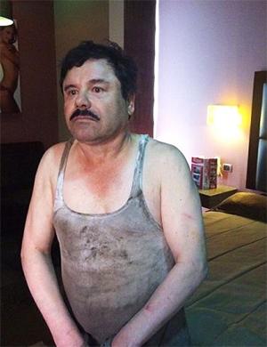 Задержание Хоакина Гусмана фото