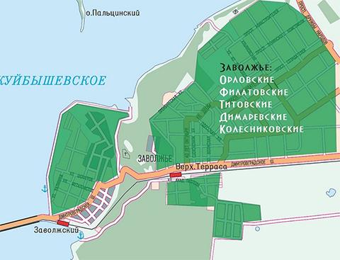Карта ОПГ Ульяновска