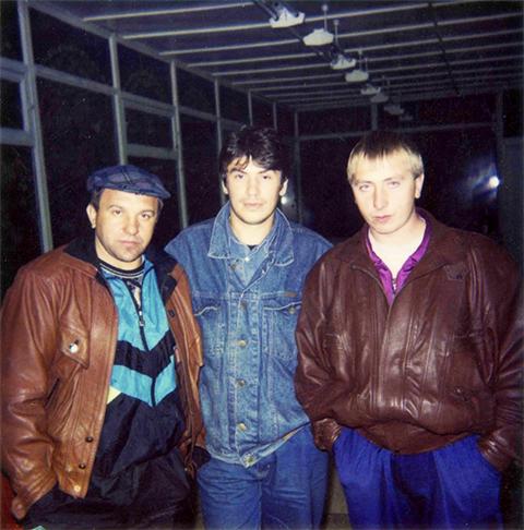 Слева: Алексей Наволокин, Валентин Захаров, Игорь Чикунов