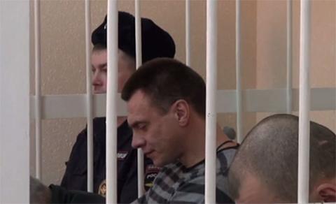 Антип во время оглашения приговора