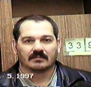Раскоронованный Михаил Лунев - Лунь. Будет убит 9 марта 2009 года